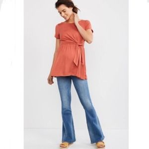 Articles Of Society NWT Flare Maternity Jeans  28
